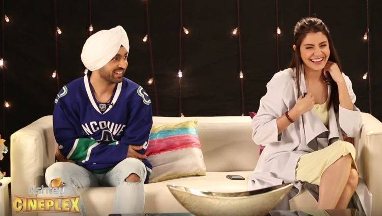 Diljit and Anushka on Phillauri and Writers like Sahir Ludhianvi who use their city name