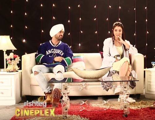 Diljit Dosanh and Anushka Sharma on Drunk Fans