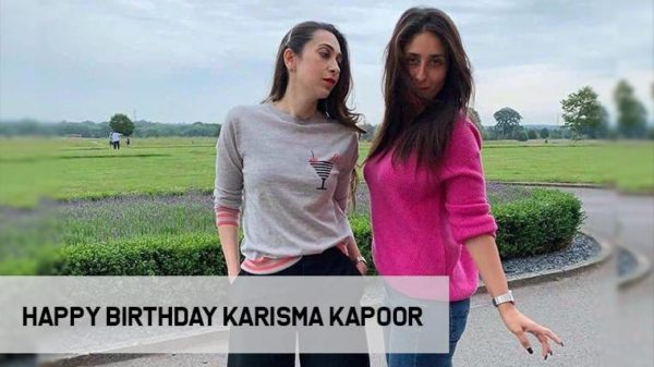 Here's how Karisma Kapoor is celebrating her birthday!