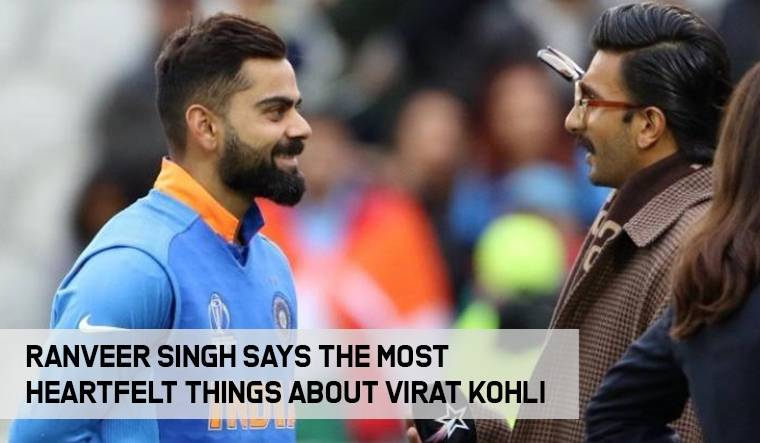 Here's what Ranveer Singh said about Virat Kohli!