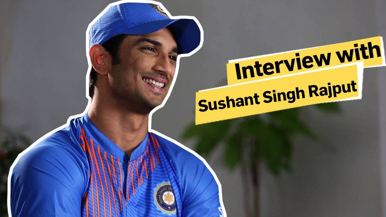 In Conversation With Sushant Singh Rajput!