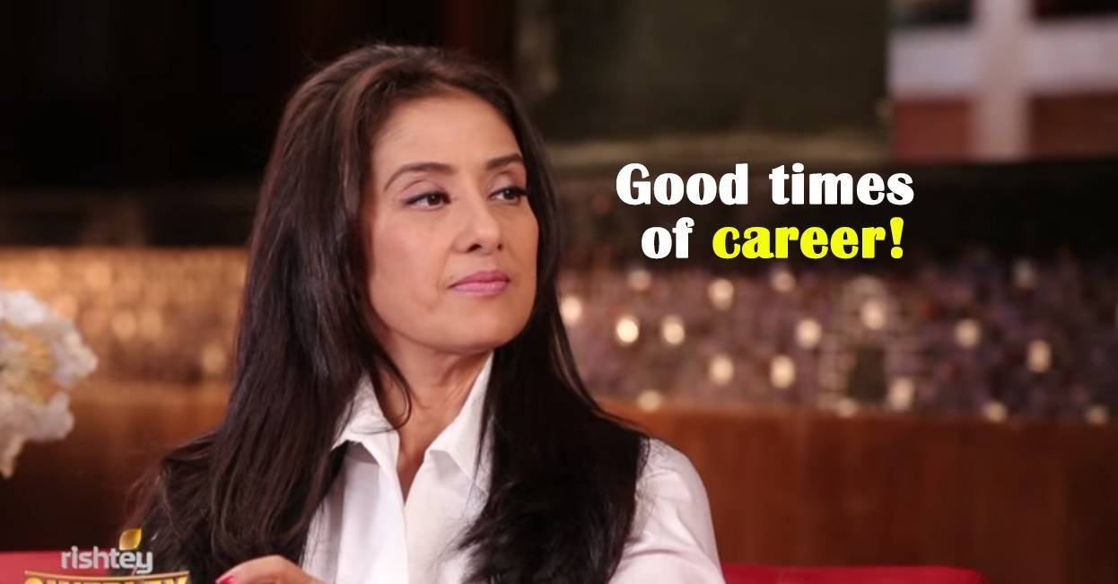 Manisha Koirala on being signed by 5 directors in just 1 Week.