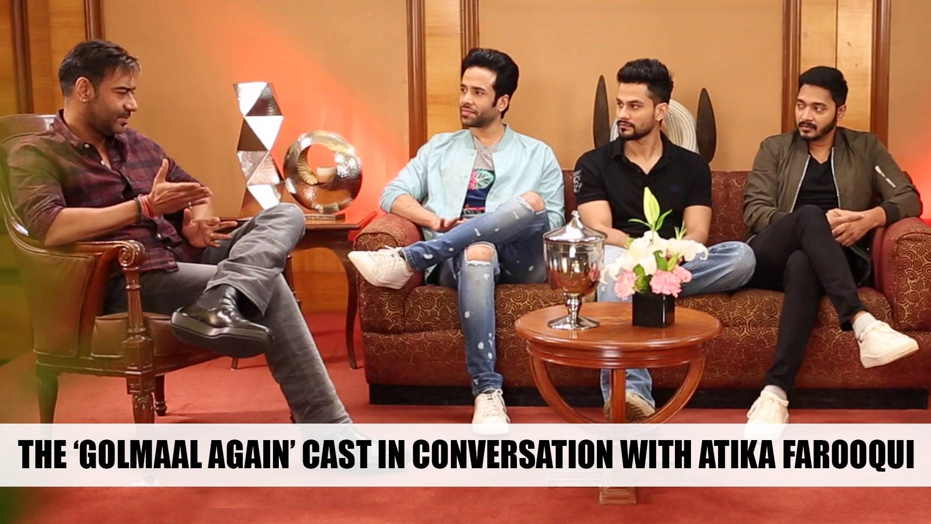 The 'Golmaal Again' cast in conversation with Atika Farooqui.