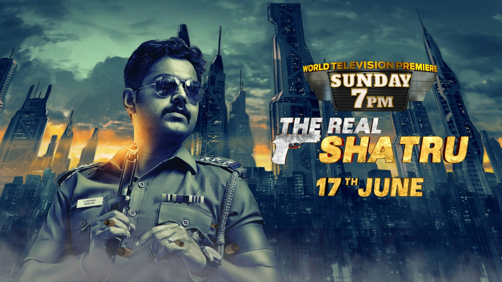 World Television Premiere – The Real Shatru on 17th June 2018 at 7 PM