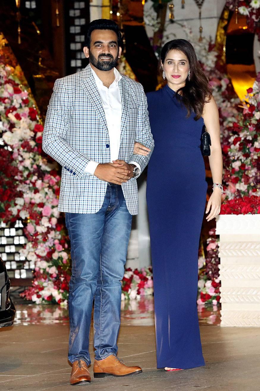 Zaheer-Khan-and-his-wife-Sagarika-Ghatge