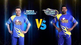 Unacademy Road Safety World Series | Virendra Sehwag Vs Dilshan | 7th March | Colors Cineplex